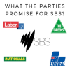 What will the Parties do with SBS after the election?